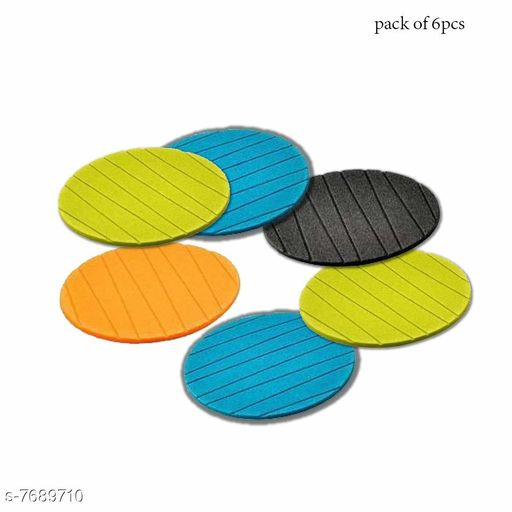 Spice Racks Rainbow Kitchen & Dinner - 6 pcs Useful Round Shape Plain Silicone Cup Mat Coaster Drinking Tea Coffee Mug Wine Mat for Home Rainbow Kitchen & Dinner - 6 pcs Useful Round Shape Plain Silicone Cup Mat Coaster Drinking Tea Coffee Mug Wine Mat for Home  *Sizes Available* Free Size *    Catalog Name: Classy Spice Racks CatalogID_1250226 C130-SC1642 Code: 272-7689710-992
