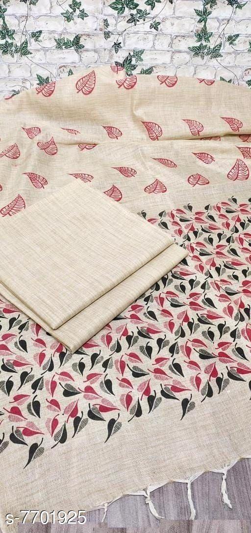 Solid Khadi Cotton Suits & Dress Materials