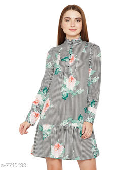 Floral Goddess Duo Midi Dress