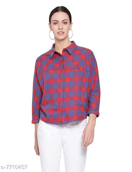 Brushed Plaid Truth Classic Women's Shirt