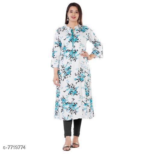 Kurti Fabric Attractive Kurta Fabrics  *Fabric* Rayon  *Sizes*  Free Size  *Sizes Available* Free Size *    Catalog Name: Kashvi Superior Kurti Fabrics CatalogID_1257114 C74-SC1326 Code: 985-7719774-