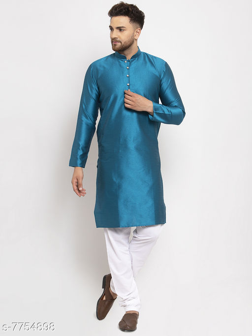 Jompers Men's Kurta Pajama Available in various colour options.