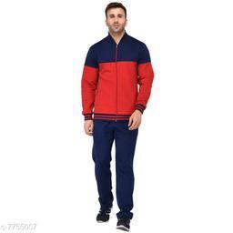 Solid Men Track Suit