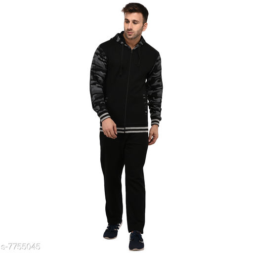 Men's Printed BlackTrackSuit