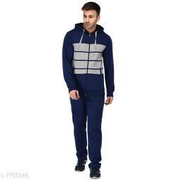 Men's Solid Blue TrackSuit