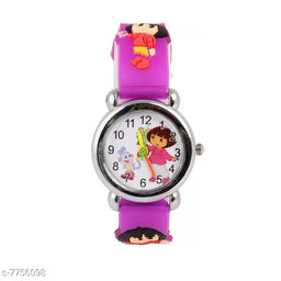 Purple Dora Fancy Kids Watch