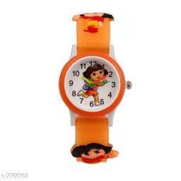 Orange Dora Fancy Kids Watch
