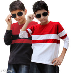 good looking set of 2 tshirts for boys