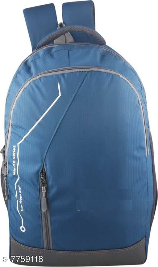 Stylish Men's Blue Backpacks