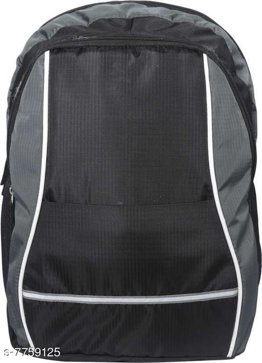 Gias 21 Ltr Stylish casual Backpack I Laptop Bag(Black)