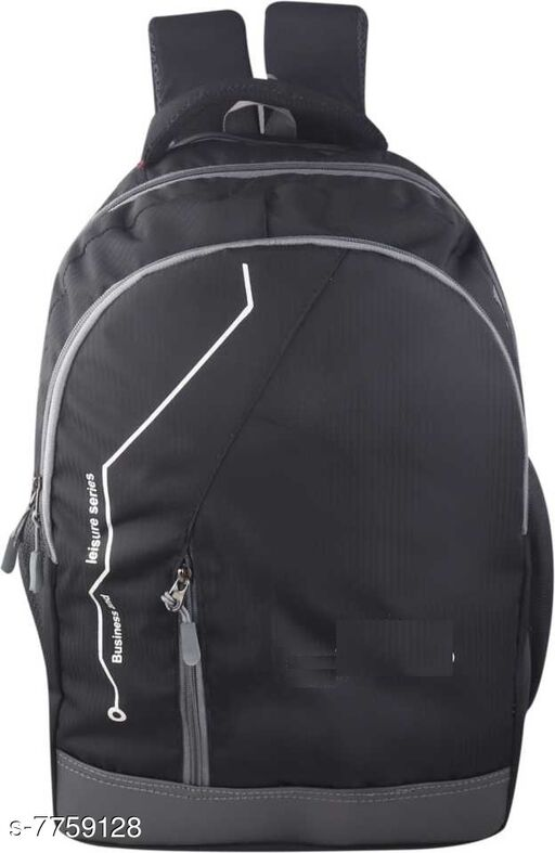 Super world 29 Ltr expandable casual Backpack(Black)