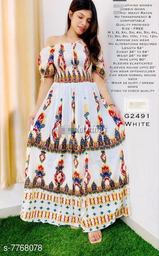 Classy Women's Rayon Dress