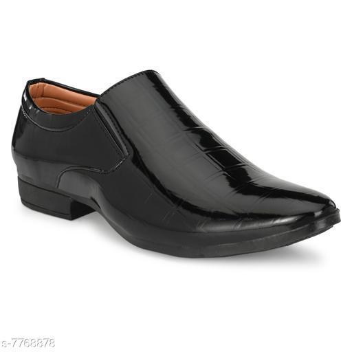 Stylish Men's Black Formal Shoes