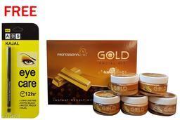 Professional Feel Gold FacialKit (250g) Free Ads Kajal (Pack Of 2)