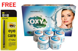 Professional Feel Oxy Glow FacialKit (250g) Free Ads Kajal (Pack Of 2)