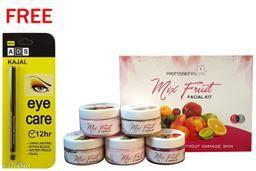 Professional Feel Mix Fruit FacialKit (250g) Free Ads Kajal (Pack Of 2)