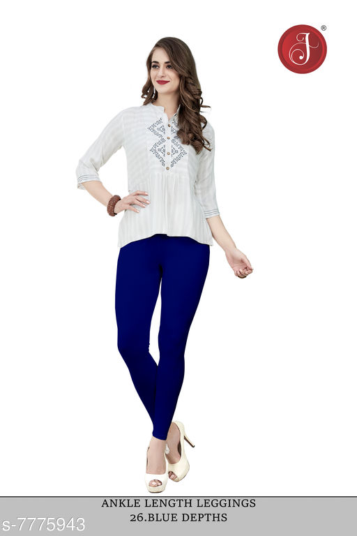 Jelite® Premium Women Free Size Stretchable LIVA Ankle Length Leggings