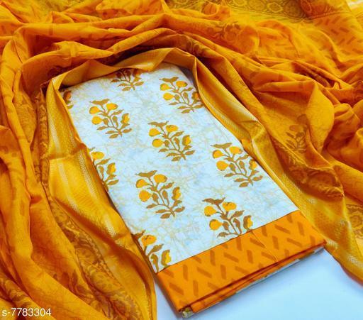 Beautiful Kalamkari Printed Suits & Dress Materilas