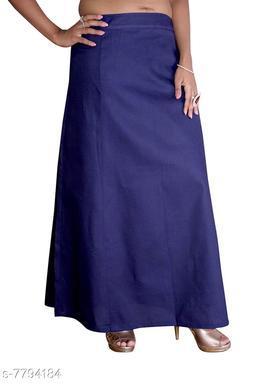ITZ ODD Fashion Cotton  Dark Blue Petticoat