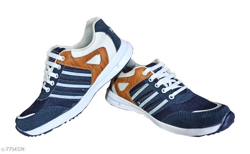 Sports Shoes Sports Shoes,Gym Shoes,Training Shoes,Sports Shoes,Walking Shoes for Men   *Material* Synthetic  *Sole Material* EVA  *Fastening & Back Detail* Lace-Up  *Pattern* Printed  *Multipack* 1  *Sizes*  IND-9  *Sizes Available* IND-6, IND-7, IND-8, IND-9 *    Catalog Name: Unique Fabulous Men Sports Shoes CatalogID_1273959 C67-SC1237 Code: 365-7794374-996