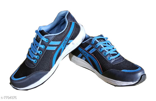 Sports Shoes Sports Shoes,Gym Shoes,Training Shoes,Sports Shoes,Walking Shoes for Men   *Material* Synthetic  *Sole Material* EVA  *Fastening & Back Detail* Lace-Up  *Pattern* Printed  *Multipack* 1  *Sizes*  IND-8  *Sizes Available* IND-6, IND-7, IND-8, IND-9 *    Catalog Name: Unique Fabulous Men Sports Shoes CatalogID_1273959 C67-SC1237 Code: 365-7794375-996