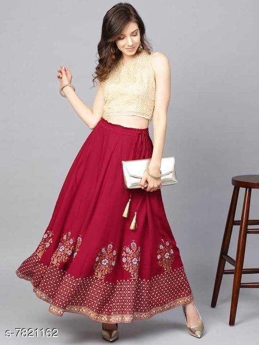 Ethnic Bottomwear - Skirts Ethnic Bottomwear - Skirts  *Material * Rayon  *Pattern * Printed  *Multipack * 1  *Sizes *   *30 ( Waist Size * 30 in , Length Size  *32 ( Waist Size * 30 in , Length Size  *34 ( Waist Size * 30 in , Length Size  *36 ( Waist Size * 30 in , Length Size  *Sizes Available* Free Size, 28, 30, 32, 34, 36, 38, 40, 42, 44 *   Catalog Rating: ★3.7 (71)  Catalog Name: Ethnic Bottomwear - Skirts CatalogID_1265473 C74-SC1013 Code: 703-7821162-