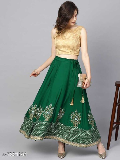 Ethnic Bottomwear - Skirts Ethnic Bottomwear - Skirts  *Material * Rayon  *Pattern * Printed  *Multipack * 1  *Sizes *   *30 ( Waist Size * 30 in , Length Size  *32 ( Waist Size * 30 in , Length Size  *34 ( Waist Size * 30 in , Length Size  *36 ( Waist Size * 30 in , Length Size  *Sizes Available* Free Size, 28, 30, 32, 34, 36, 38, 40, 42, 44 *   Catalog Rating: ★3.7 (71)  Catalog Name: Ethnic Bottomwear - Skirts CatalogID_1265473 C74-SC1013 Code: 703-7821164-