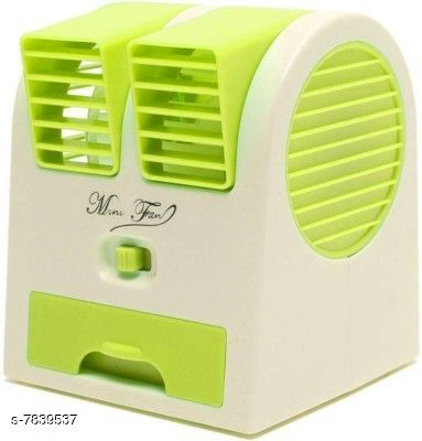 Air Coolers Mini Cooler USB & Battery Powered BLADELESS Portable AIR Cooler & Fragrance Spreader  *Product Name* Mini Cooler USB & Battery Powered BLADELESS Portable AIR Cooler & Fragrance Spreader  *Color* Green  *Remote Control* No  *Sizes*   *Free Size (Length Size* 14 in, Width Size  *Sizes Available* Free Size *    Catalog Name:  Air Coolers CatalogID_1284352 C103-SC1472 Code: 136-7839537-