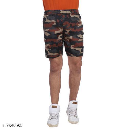 Trendy Men's Cotton Shorts
