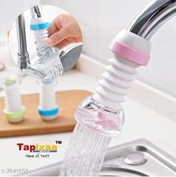 Tapixaa 360° Adjustable Rotating Water Saving Faucet, Water Filter Nozzle (Medium, Random Color)