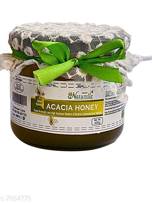 Health Honey Health Farm Naturelle-Acacia   Honey 450 gms   *Sizes Available* Free Size *    Catalog Name: Health Utility CatalogID_1287991 C121-SC1464 Code: 013-7854773-