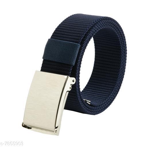 Unique Men's Navy Blue Belt