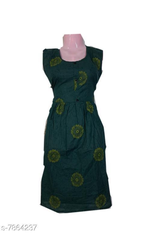 Kurtis & Kurtas kurtis  *Fabric* Cotton  *Combo of* Single  *Sizes*  XL  *Sizes Available* XL *    Catalog Name: Alisha Alluring Kurtis CatalogID_1290469 C74-SC1001 Code: 253-7864237-
