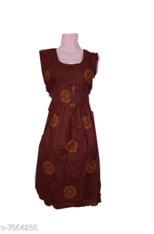 Kurtis & Kurtas kurtis  *Fabric* Cotton  *Combo of* Single  *Sizes*  XL  *Sizes Available* XL *    Catalog Name: Alisha Alluring Kurtis CatalogID_1290469 C74-SC1001 Code: 253-7864238-