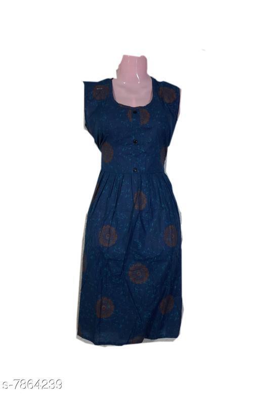 Kurtis & Kurtas kurtis  *Fabric* Cotton  *Combo of* Single  *Sizes*  XL  *Sizes Available* XL *    Catalog Name: Alisha Alluring Kurtis CatalogID_1290469 C74-SC1001 Code: 253-7864239-