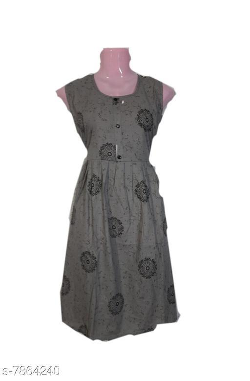 Kurtis & Kurtas kurtis  *Fabric* Cotton  *Combo of* Single  *Sizes*  XL  *Sizes Available* XL *    Catalog Name: Alisha Alluring Kurtis CatalogID_1290469 C74-SC1001 Code: 253-7864240-