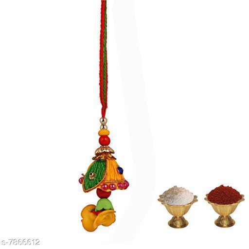 Rakhi  Chuda Rakhi  *Multipack* 1  *Sizes* Free Size  *Sizes Available* Free Size *    Catalog Name: Diva Graceful Rakhi CatalogID_1291032 C77-SC1266 Code: 102-7866612-