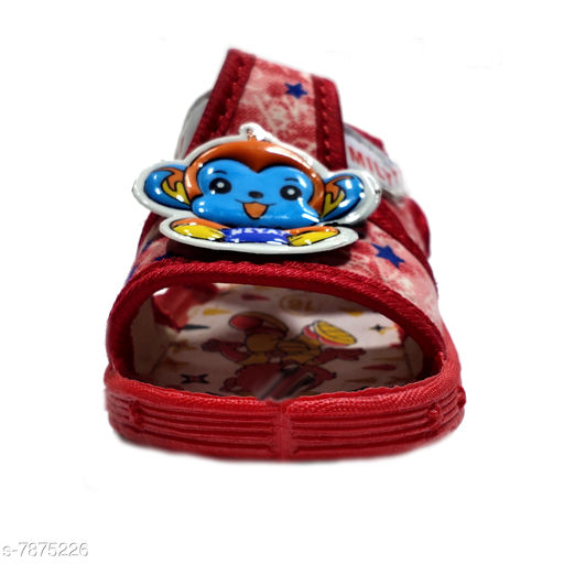 Sandals Baby Choo Choo Sandal- Red  *Material* Textile  *Sole Material* Rubber  *Sizes*   *Sizes Available* 6 Months, 6-9 Months *    Catalog Name: Designer Classy Boys  Sandals CatalogID_1292984 C57-SC1190 Code: 923-7875226-