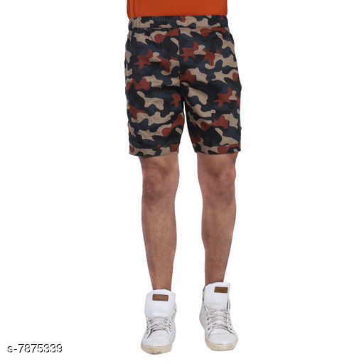 Just pair these shorts with a casual shirt and shoes