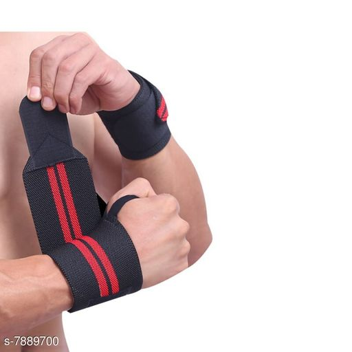 Eastern Club Washable Elasticized Polyester Wrist Support 1 Pair
