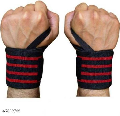 Eastern Club FITNESS Gym Wrist Wraps Wrist Support for Men - 1 Pair