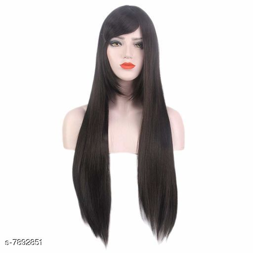 Hair Accessories  Premium High Quality Hair Wigs  *Product Name* Stylish Hair Wigs  *Type* Hair Wig  *Material* Synthetic Fiber  *Inner Material* Net  *Color* Brown  *Multipack* 1  *Sizes* Free Size(Head Circumference  *Sizes Available* Free Size *    Catalog Name:  Advanced Collection Hair Wigs CatalogID_1296920 C72-SC1088 Code: 9561-7892851-0005