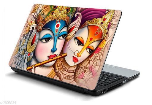 Studio Shubham radha krishna ji laptop skin for laptop dell,apple,hp & all other brands-models upto 15.6 inches/ Waterproof laptop skin cover / Laminated Laptop skin sticker cover