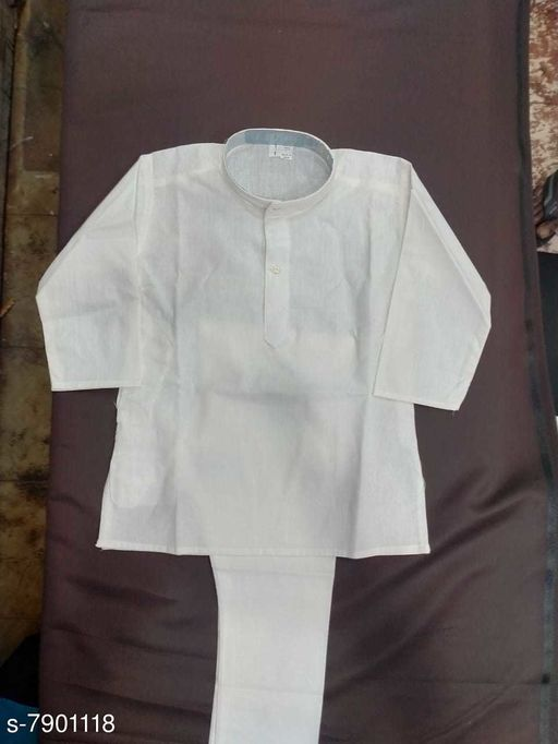 Kurta Sets KURTHA SETS  *Top Fabric* Cotton  *Bottom Type* dhoti pants  *Sizes*  Free Size  *Sizes Available* Free Size *    Catalog Name: Tinkle Classy Kids Boys Kurta Sets CatalogID_1298788 C58-SC1170 Code: 004-7901118-
