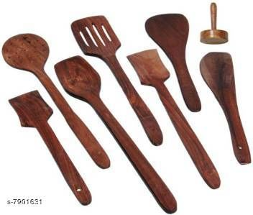 Stylish Wooden Spatula