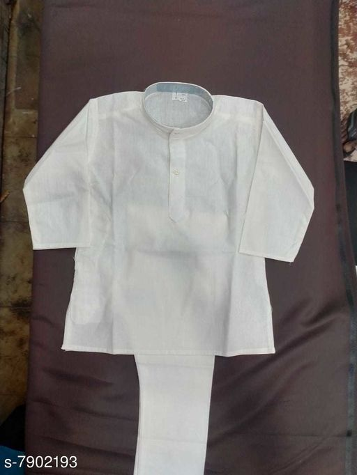 Kurta Sets KURTHA SETS  *Top Fabric* Cotton  *Bottom Type* dhoti pants  *Sizes*  6-7 Years  *Sizes Available* 6-7 Years *    Catalog Name: Cutiepie Funky Kids Boys Kurta Sets CatalogID_1299013 C58-SC1170 Code: 004-7902193-