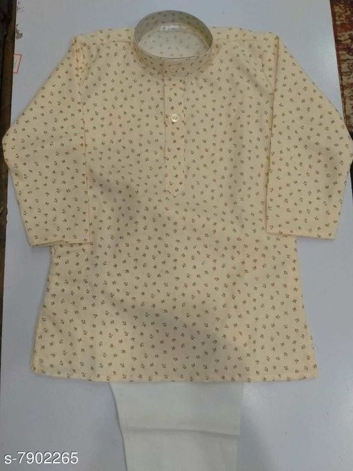 Kurta Sets KURTHA SETS  *Top Fabric* Cotton  *Bottom Type* dhoti pants  *Sizes*  7-8 Years  *Sizes Available* 7-8 Years *    Catalog Name: Agile Stylus Kids Boys Kurta Sets CatalogID_1299035 C58-SC1170 Code: 634-7902265-