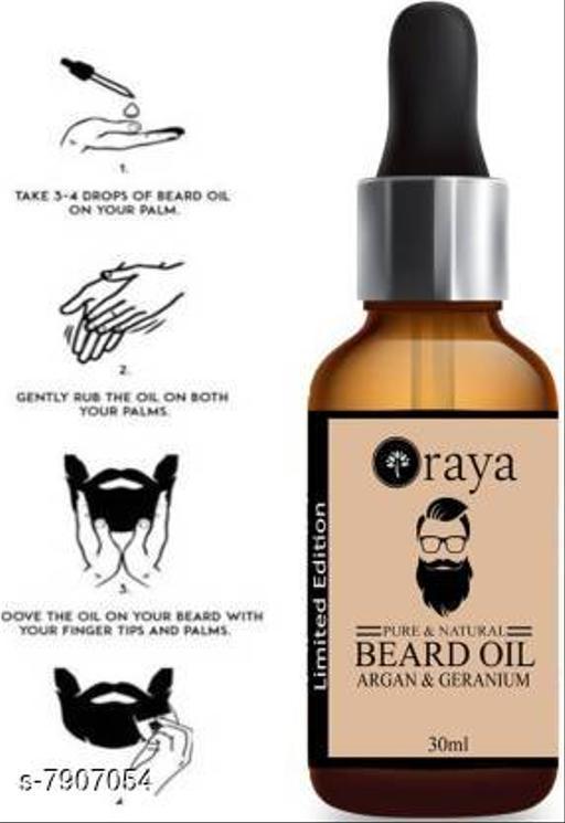 Oraya Argan PowerFull Beard Growth Oil, Moustache Oil-30ML Hair Oil (30 ml)