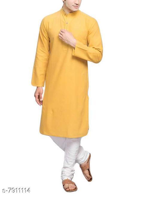 mens cotton blend  kurta payjama set