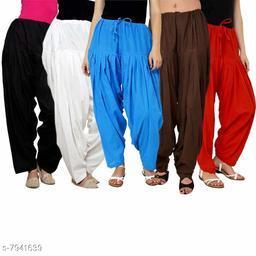 BelleVie 100% Pure Cotton Salwar For Womens & Girls